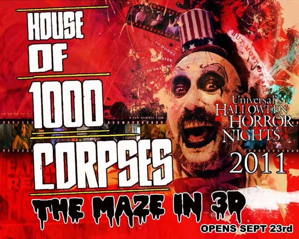 Universal Halloween Horror Nights Takes You Back to Rob Zombie's House of 1000 Corpses