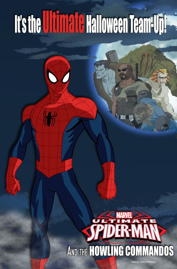 Ultimate Spider-man and the Howling Commandos