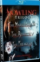 Howling Trilogy - The Marsupials III, The Rebirth V, The Freaks VI on DVD