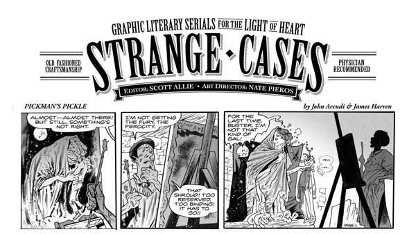 Scott Allie Organizes All-Star Team to Create a Free Comic for Portland's H.P. Lovecraft Film Festival (click for larger image)