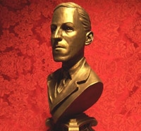 hp lovecraft bronze bust 1s - H.P. Lovecraft to be Honored in Providence, Rhode Island