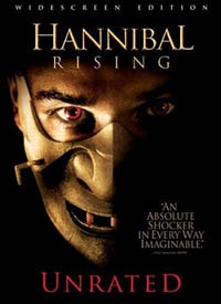 Hannibal Rising Unrated DVD (click for larger image)