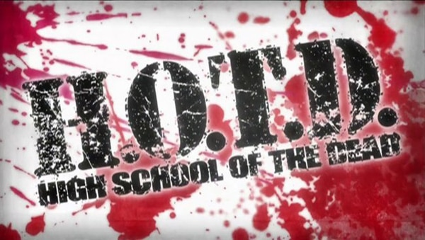 High School of the Dead Goes Digital on April 19th