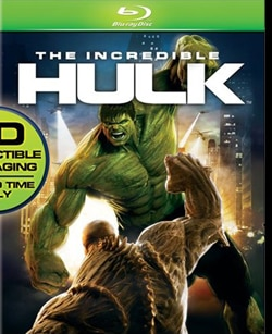The Incredible Hulk on Blu-ray and DVD (click for larger image)