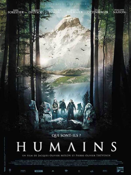 French Poster for Humains