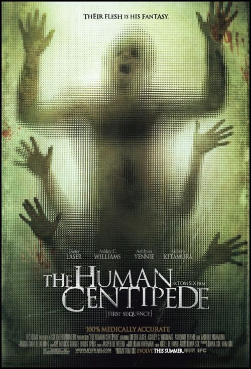 New One-Sheet: The Human Centipede (First Sequence)