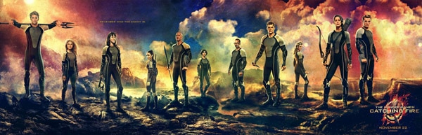 The Hunger Games: Catching Fire (click for larger image)