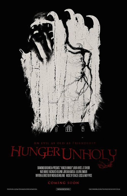 hunger unholy poster 1 - Giant Fangs Are the Best Way to Feed an Unholy Hunger