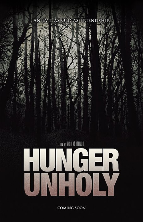 hunger unholy poster 2 - Giant Fangs Are the Best Way to Feed an Unholy Hunger