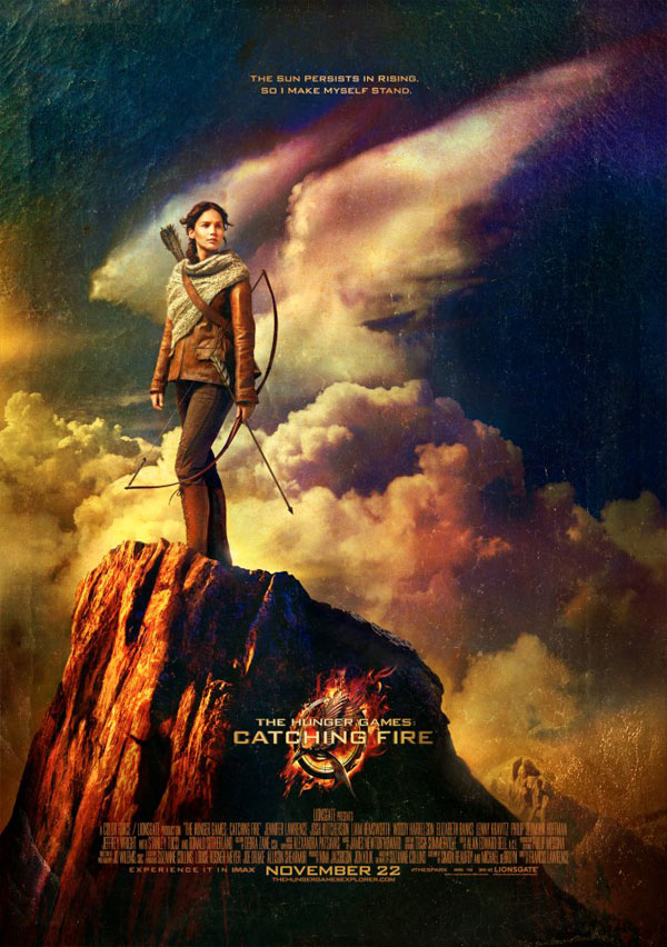 hungergamesnewposter - New Mega Banner for The Hunger Games: Catching Fire Arrives! Teenage Girls Everywhere Squeal!