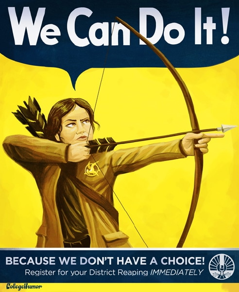 New Hunger Games PSA Posters Bring the Funny