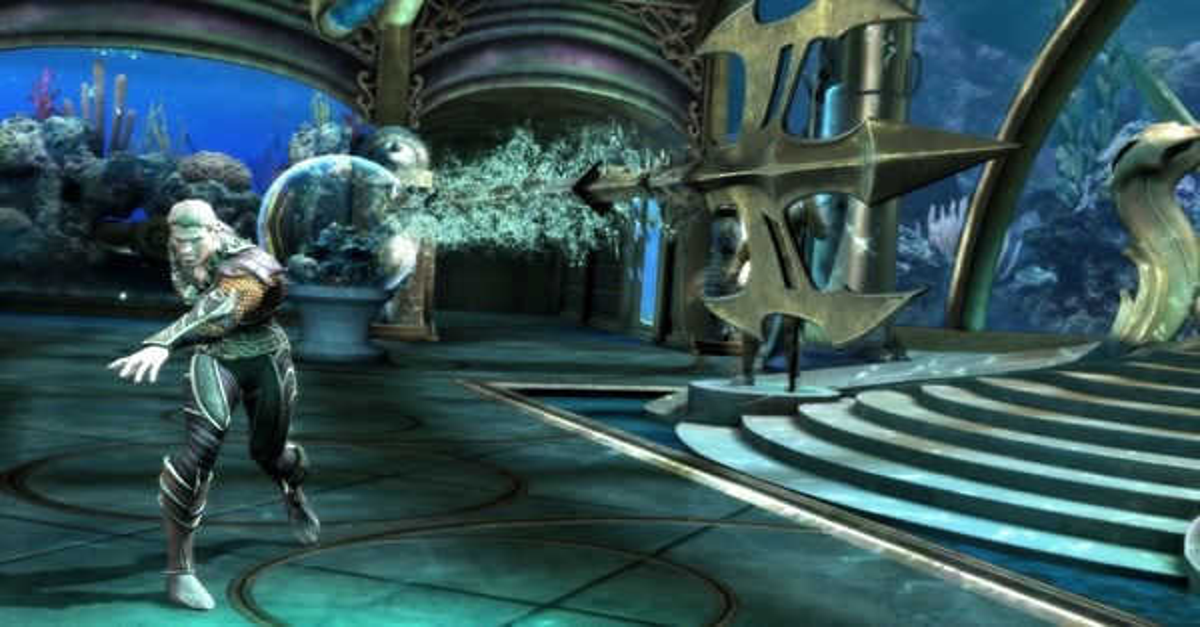 iaqua1 - Injustice: Gods Among Us Adds Aquaman to the Line-Up