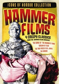 Hammer Films: Icons of Horror Collection DVD (click for larger image)