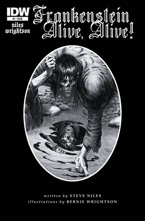 IDW Publishing Resurrects Wrightson's Frankenstein, Plus Other Impressive Projects