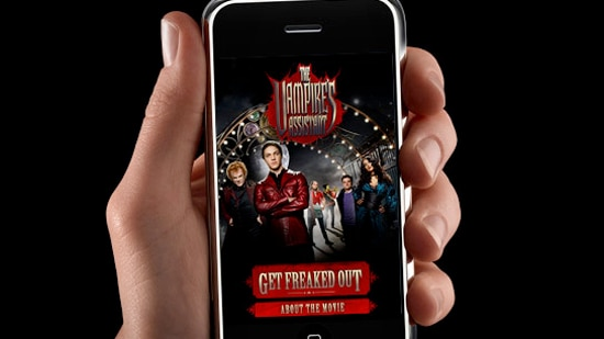 The Vampire's Assistant Launches iFreak iPhone Application
