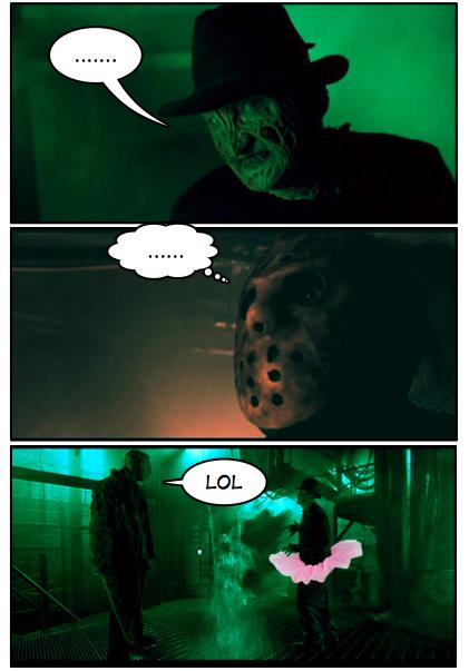 Freddy Vs. Jason!