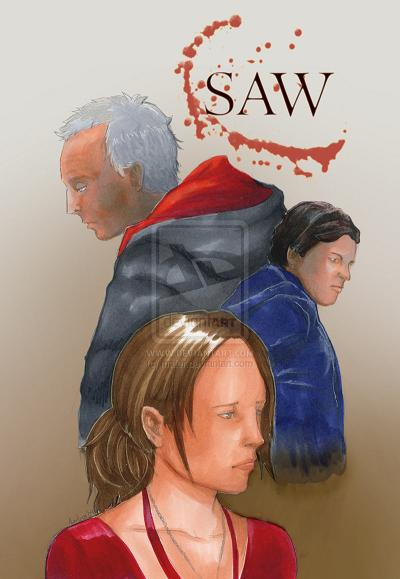 16 Scary Samples of Saw Fan Art