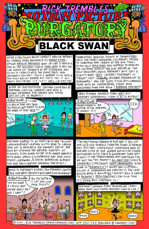 Rick Trembles' Black Swan review