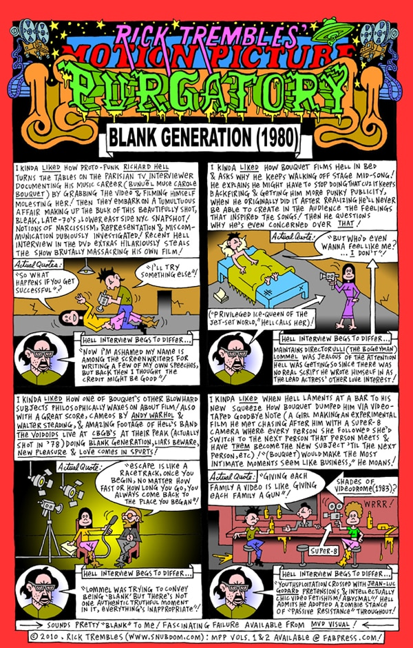 Rick Trembles' Blank Generator review!