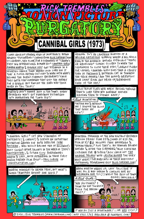 Rick Trembles' Cannibal Girls review!