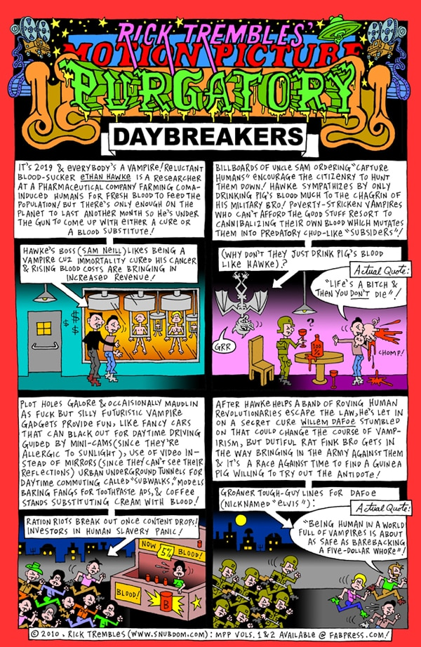 Rick Trembles' Daybreakers review!