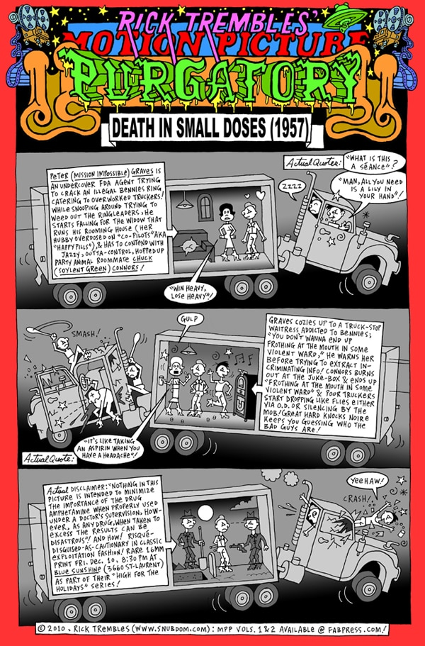 Rick Trembles' Death in Small Doses review