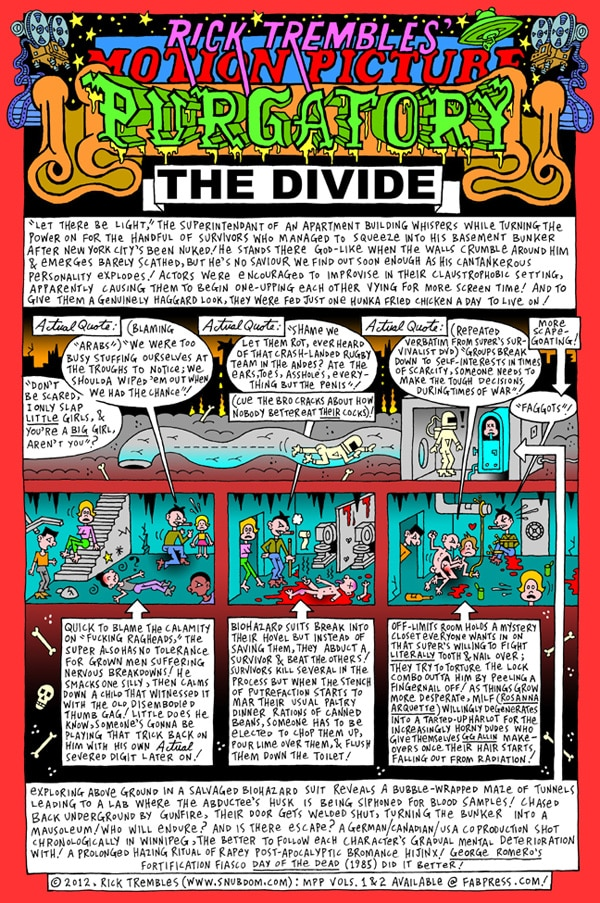 Rick Trembles' The Divide review