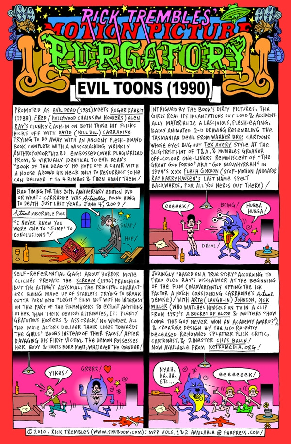 Rick Trembles' Evil Toons review!