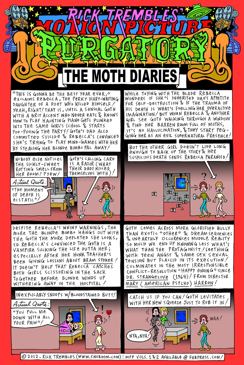 mpp moth - Motion Picture Purgatory: The Moth Diaries