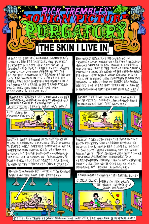 Rick Trembles' The Skin I Live In review