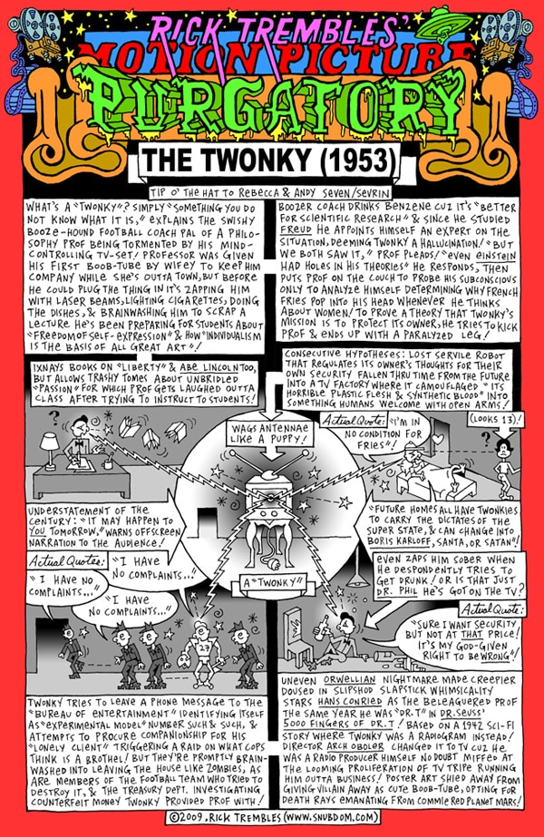 Rick Trembles' The Twonky review!