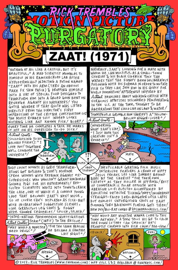 Motion Picture Purgatory: Zaat