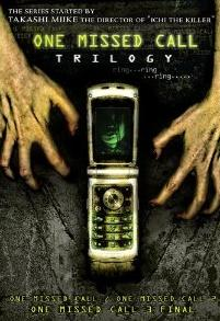 One Missed Call Trilogy on DVD