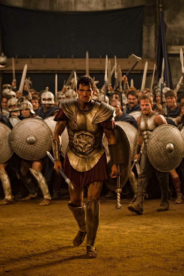 Henry Cavill Means Business in Latest Immortals Image