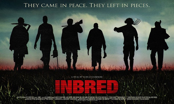 inbredq - Official UK Quad Poster for Inbred Leaves in Pieces