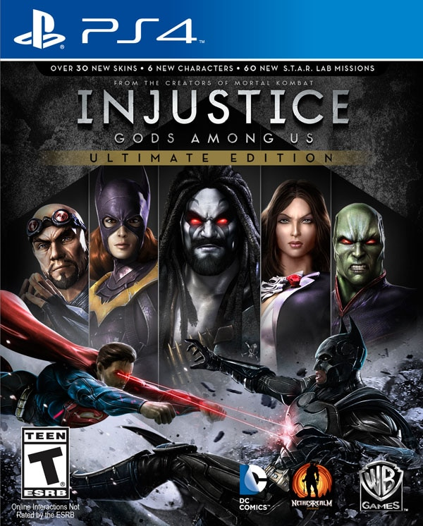 injustice ps4 - Injustice: Gods Among Us Ultimate Edition - Coming to PlayStation 4