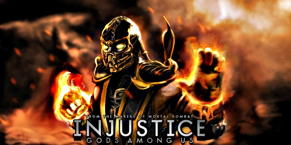 injustice scorpion - Scorpion Revealed as New DLC Character in Injustice: Gods Among Us