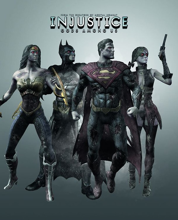 Zombie DLC Coming for Injustice: Gods Among Us