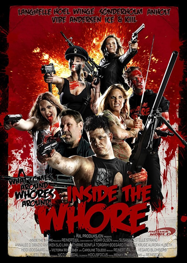 Trailer, Stills, and Artwork for Norwegian Horror Film Inside the Whore
