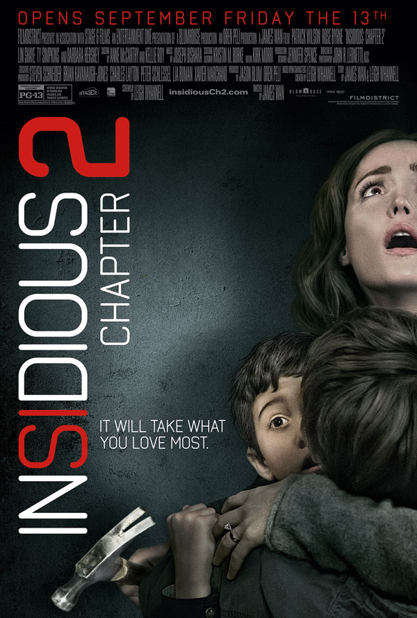 Insidious Chapter 2 Moved to an Earlier Release Date