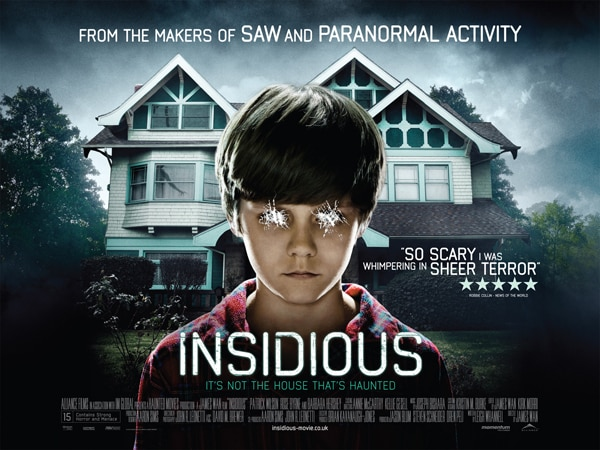 UK Readers! Get in QUICK to Win Tickets for Insidious this Tuesday, April 12!