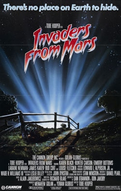 invadersmars - Saturday Nightmares: Invaders From Mars (1986)