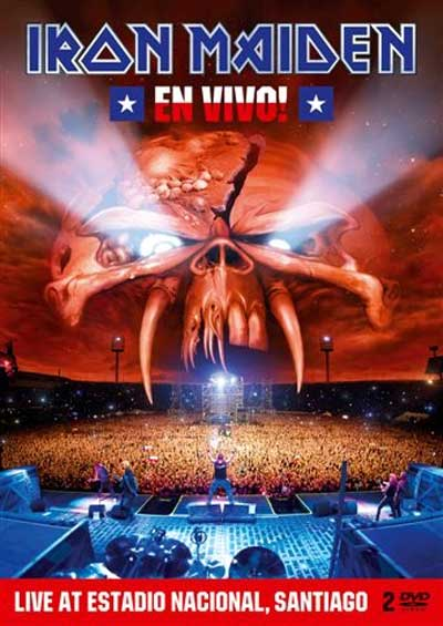 Win a Prize Pack for Iron Maiden's En Vivo! Live Performance in Santiago, Chile
