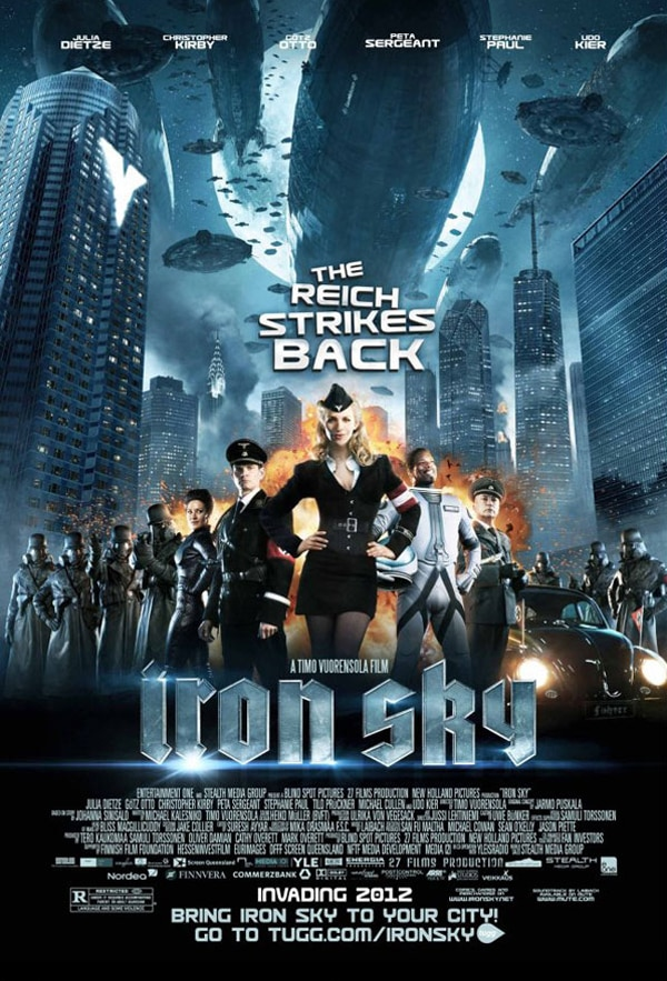 Nazis Attack from Outer Space in Iron Sky
