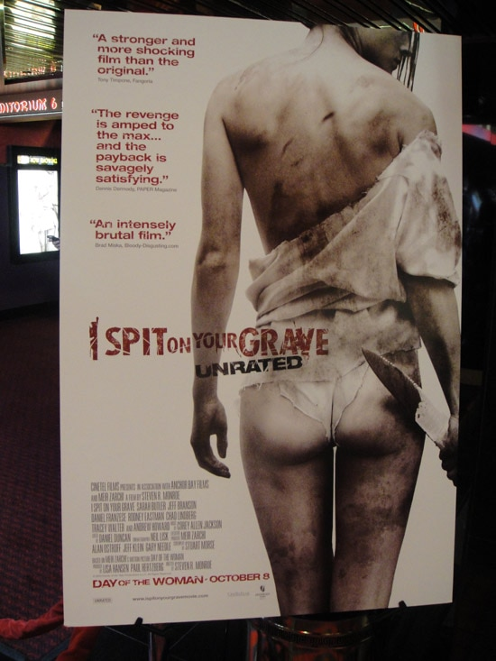 isoygprem1 - Exclusive: Dread Central Hits the Red Carpet Premiere of I Spit on Your Grave