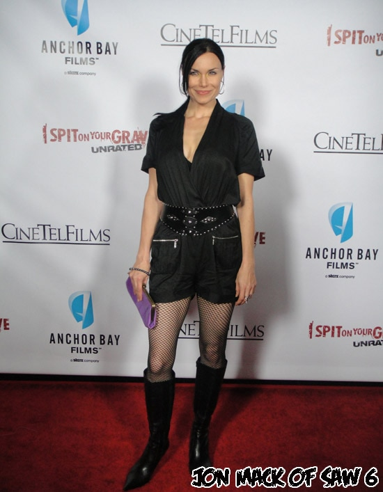 isoygprem2 - Exclusive: Dread Central Hits the Red Carpet Premiere of I Spit on Your Grave