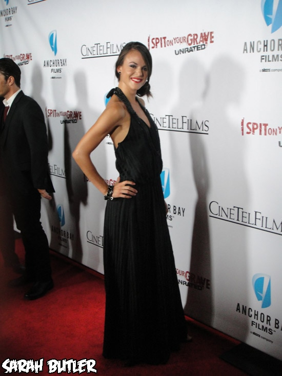 isoygprem7 - Exclusive: Dread Central Hits the Red Carpet Premiere of I Spit on Your Grave