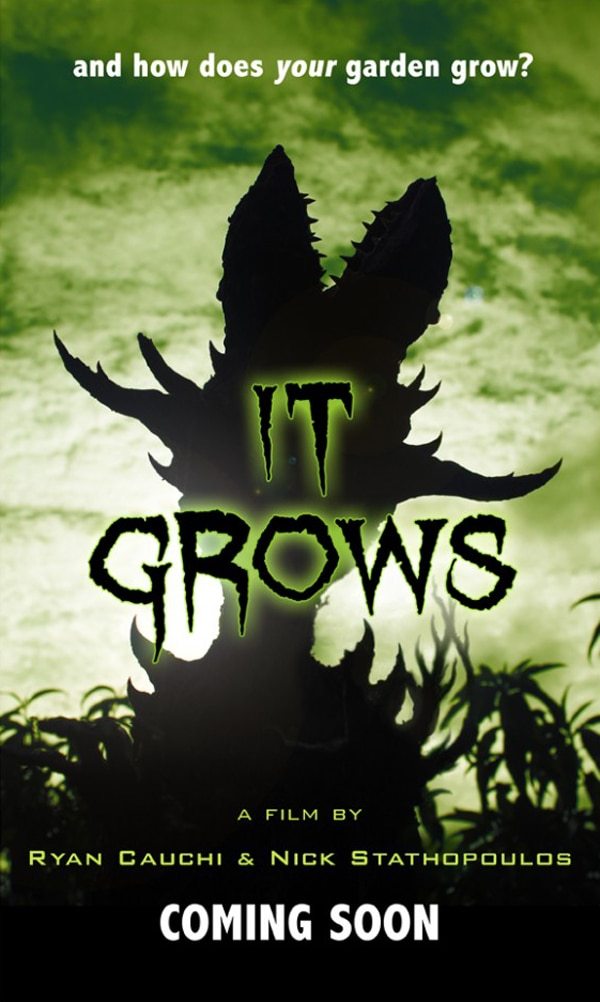 Artist Nick Stathopoulos Talks Upcoming Film Project It Grows