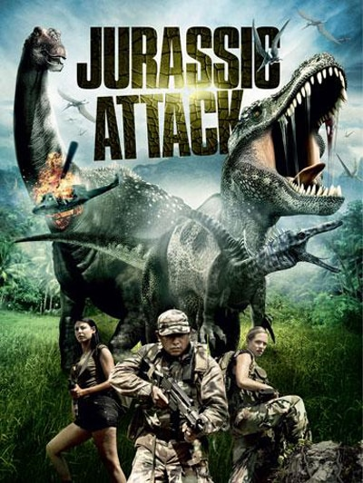 Witness Commandos Battle Dinosaurs in Jurassic Attack