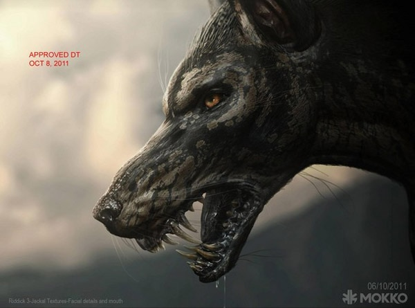 Latest Chronicles of Riddick Concept Art Cries havoc and Lets Slip the Dogs of War